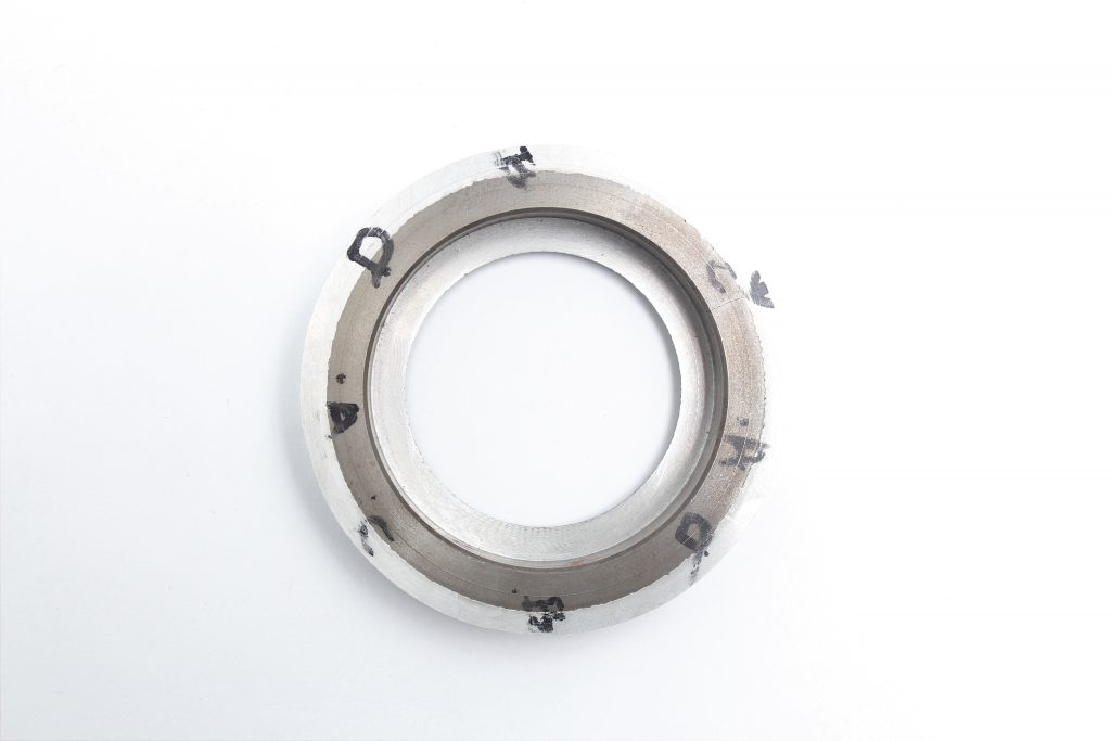 Fractured Cast Iron Bearing Insert image