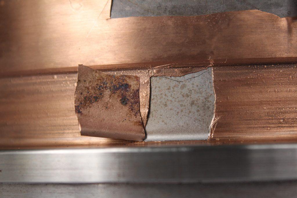 Bronze Plating Exfoliation image