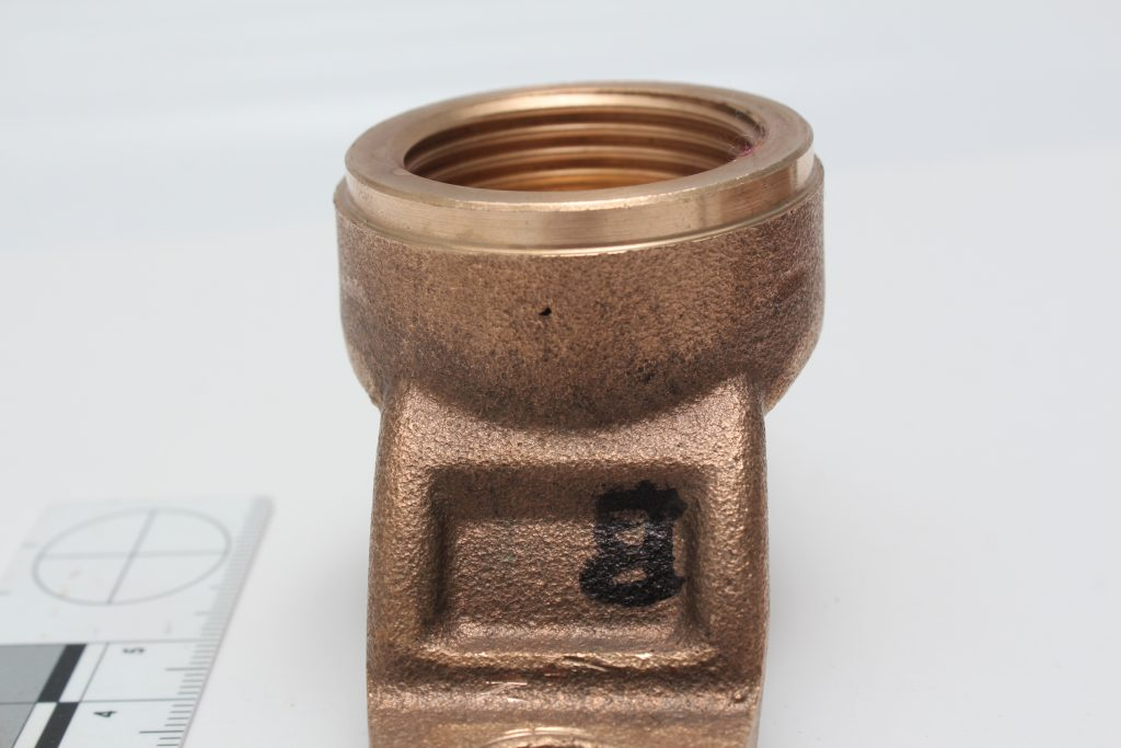 Casting Defect in Copper Alloy image